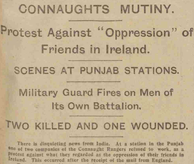 Mutiny of the Connaught Rangers