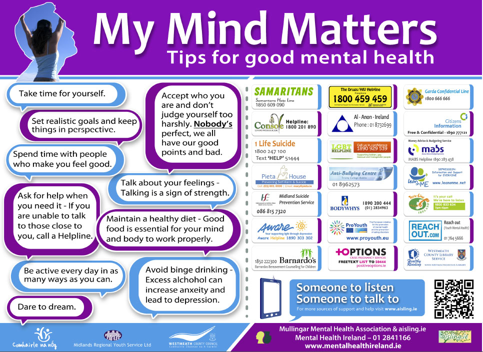 My Mind Matters poster