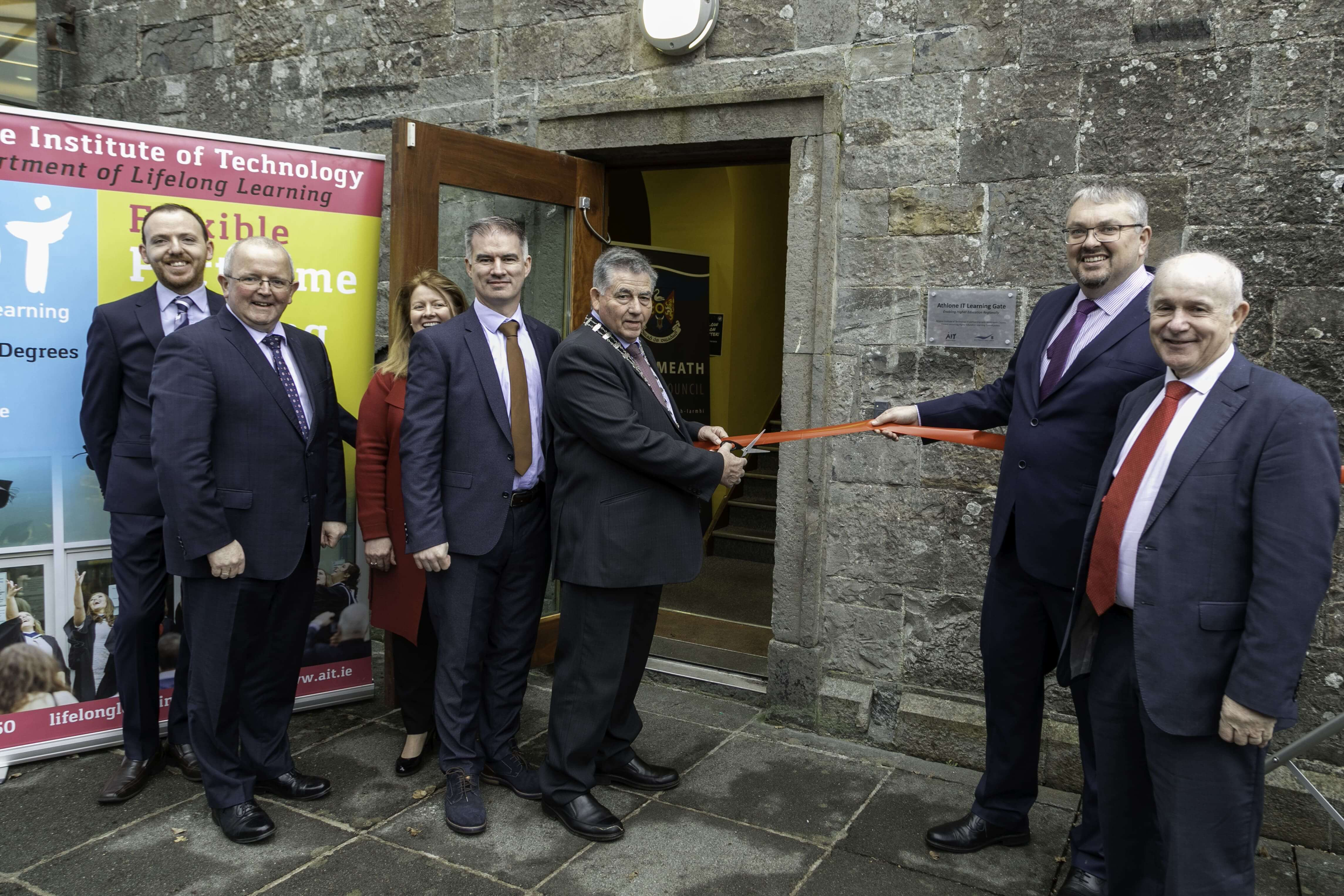 Athlone IT Learning Gate Opening