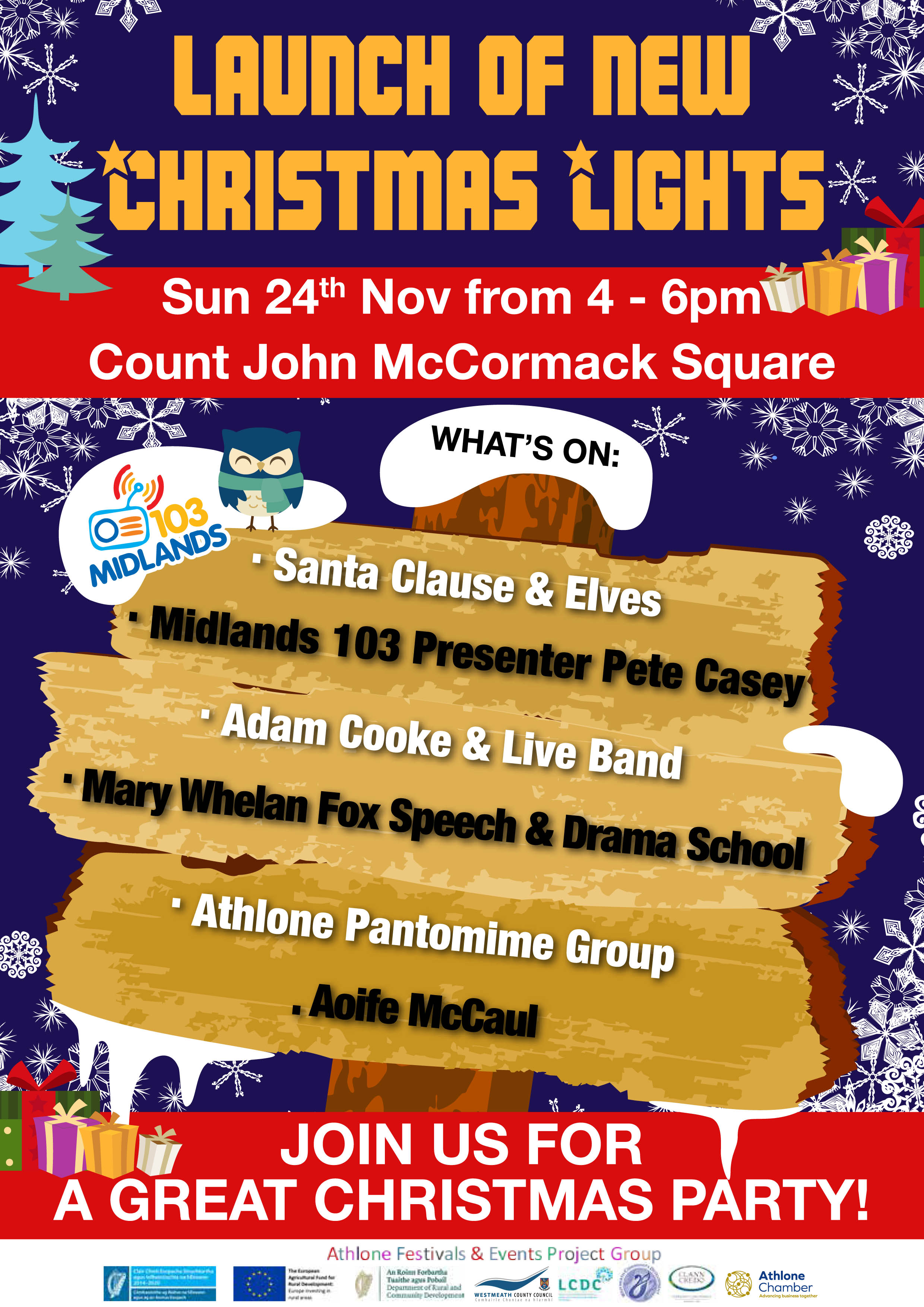 Athlone Christmas Lights 2019